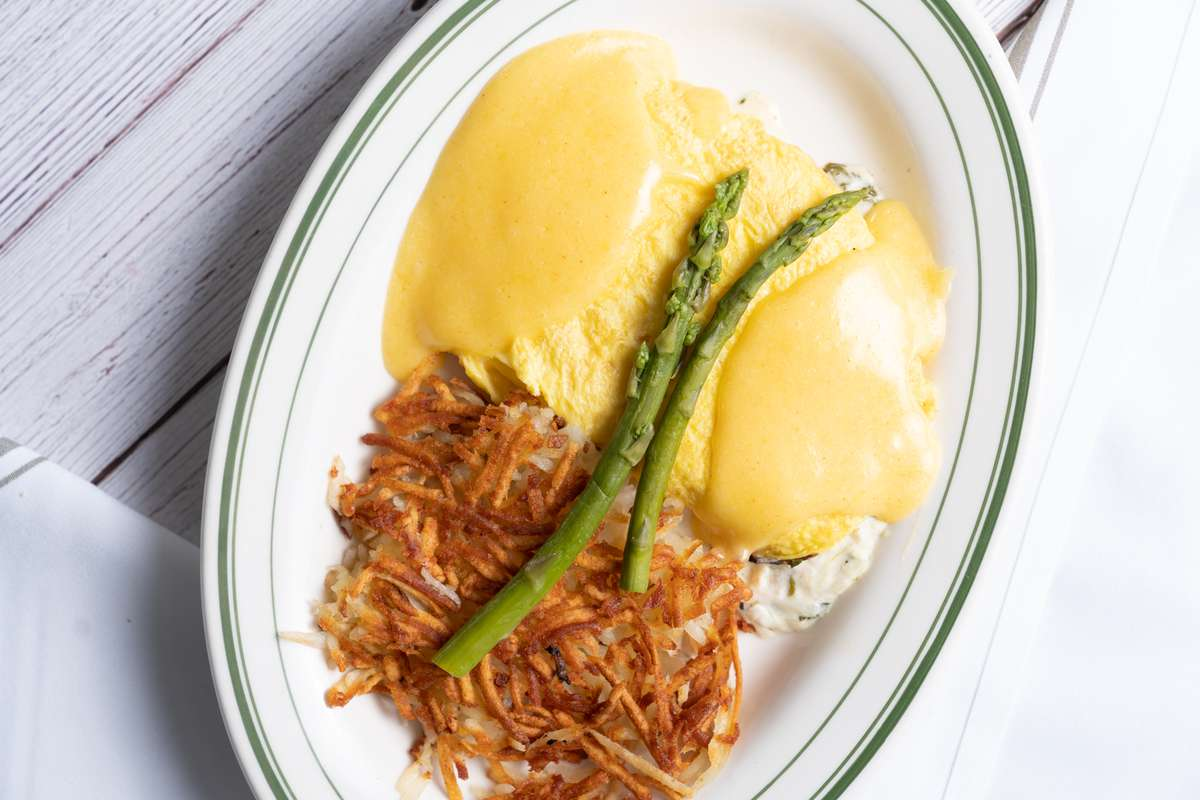 Friday: Blue Lump Crab Omelet