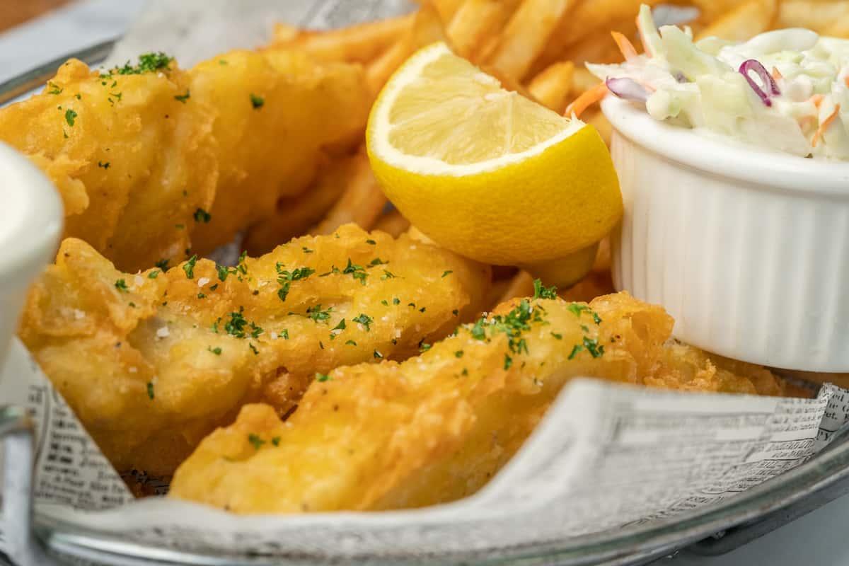Cod Fish 'N' Chips