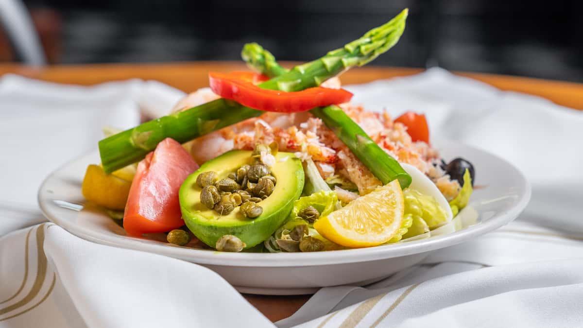 Crab & Gulf Coast Shrimp Louie Combo