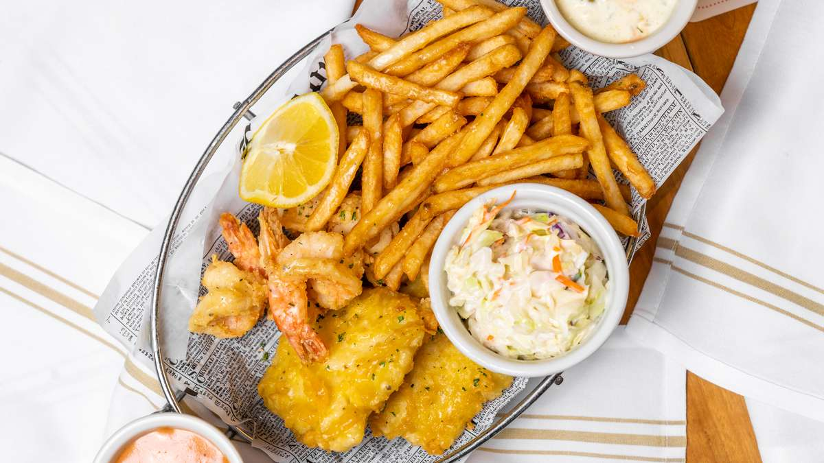 New England Cod Fish 'n' Chips