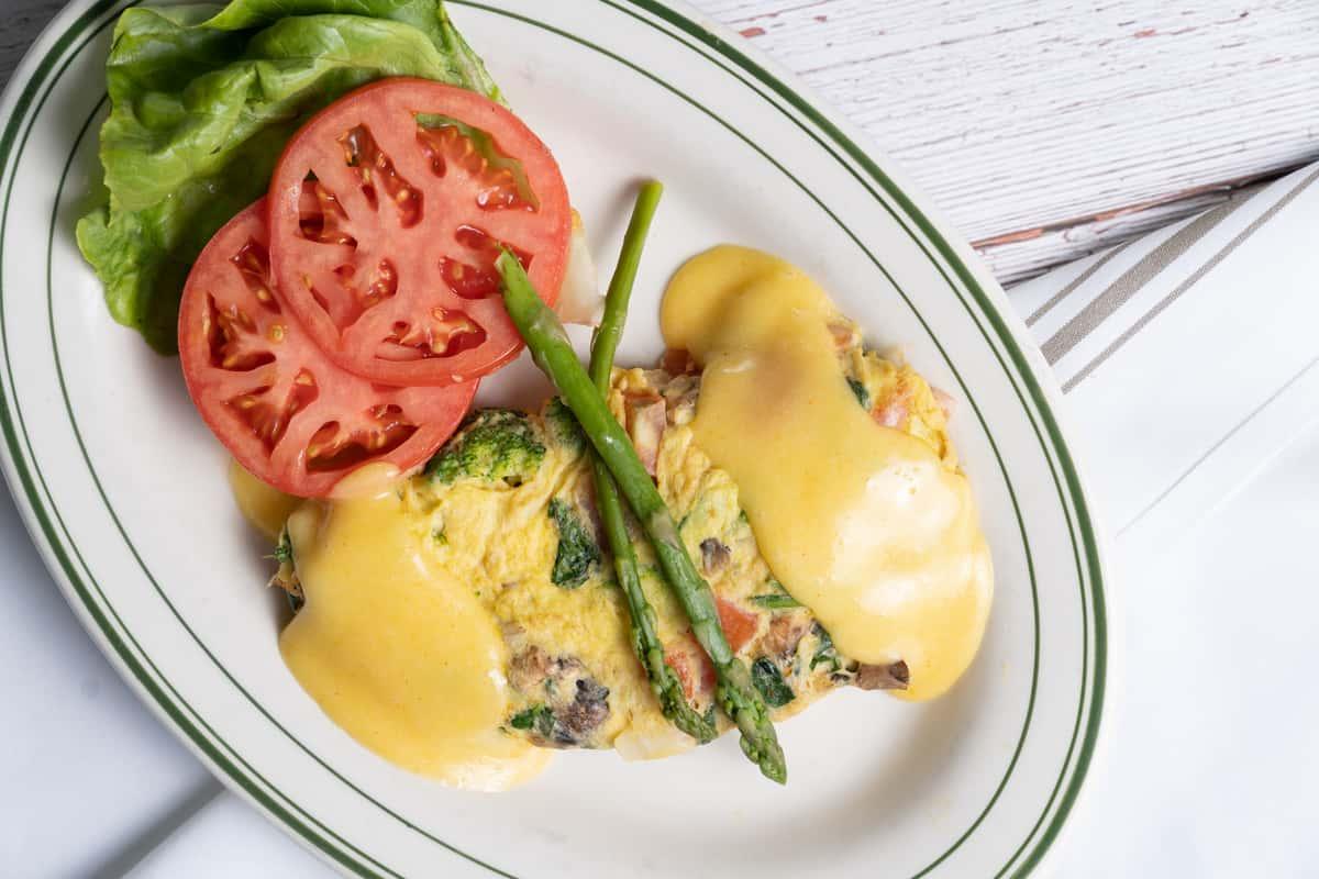 Thursday: Vegetarian Omelet
