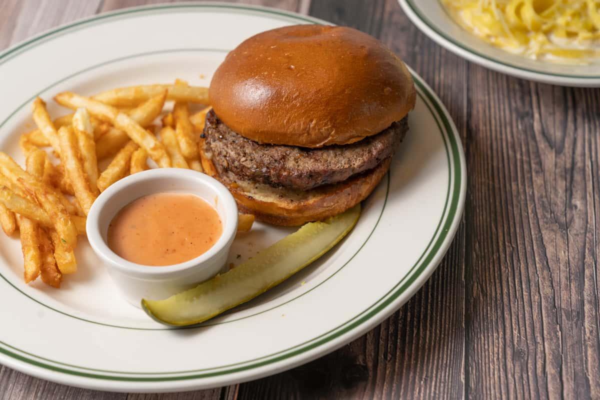 Market Street Grill Burger