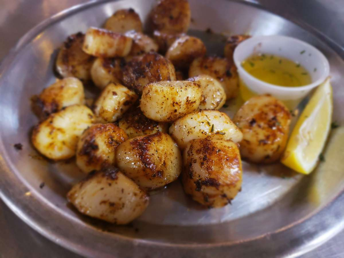 Scallops By the Lb