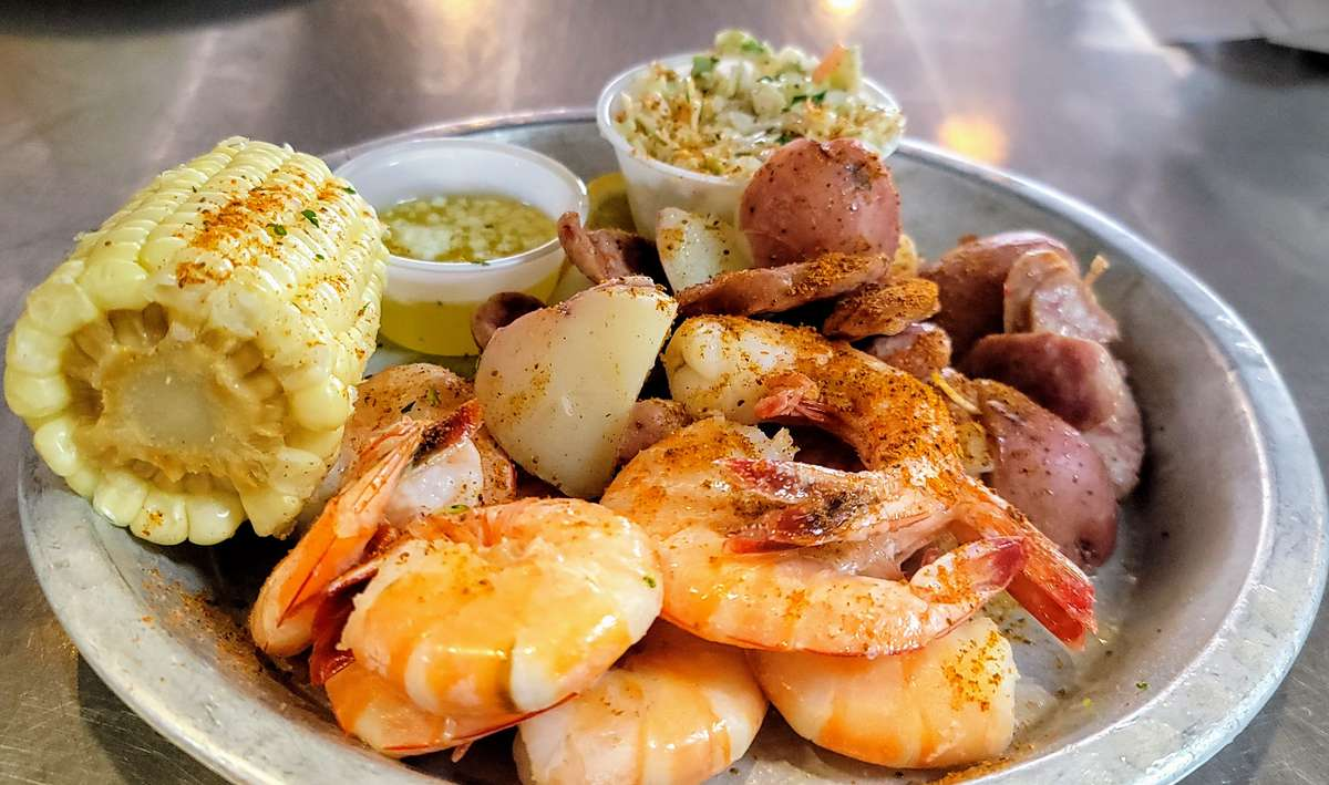 "Low Country Boil Originally, ""Frogmore Stew"""