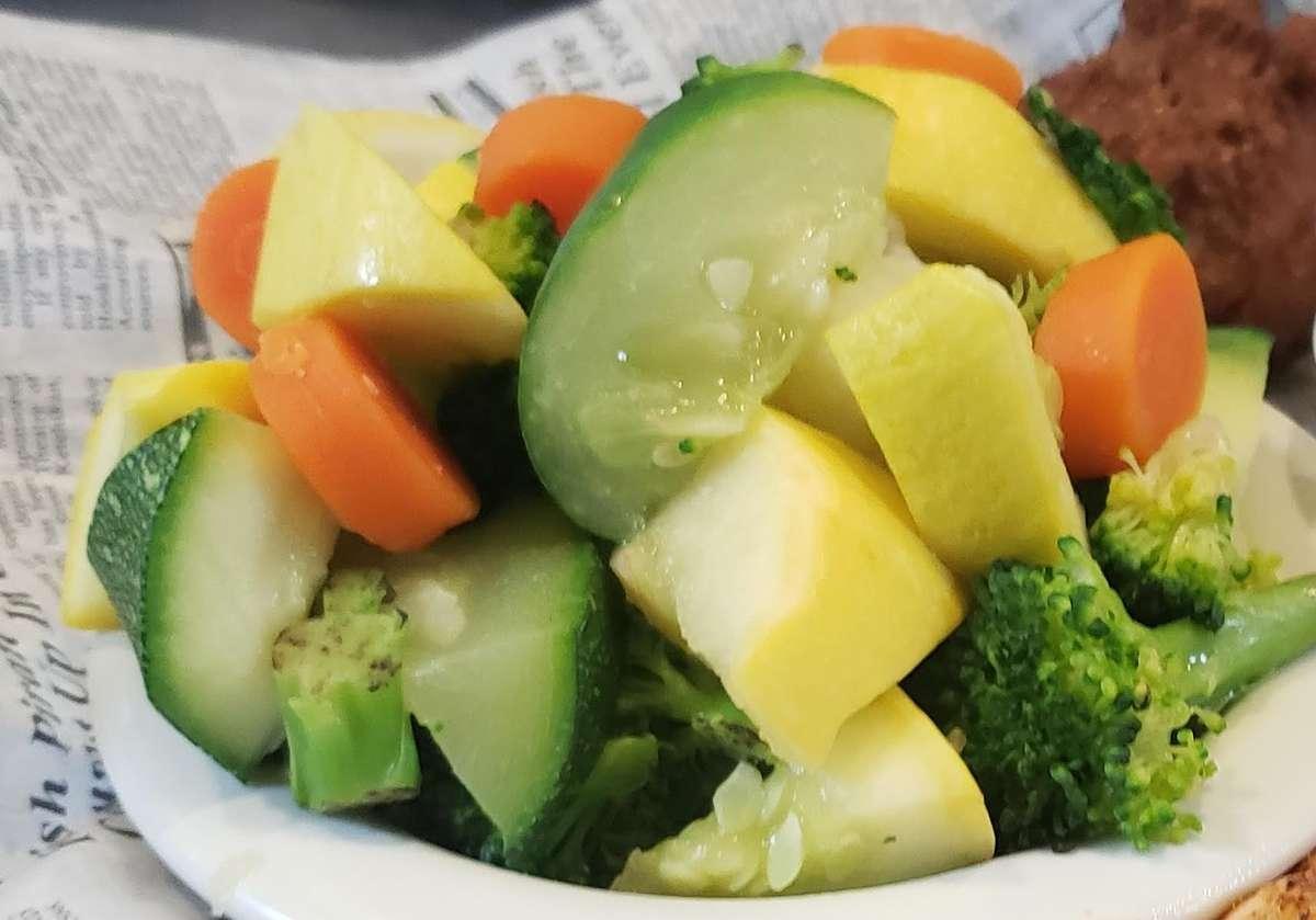 Fresh Steamed Vegetable