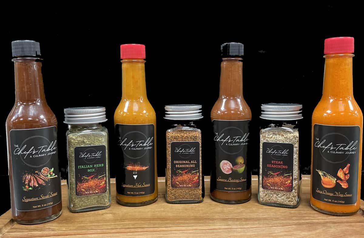 Sauces Seasonings All