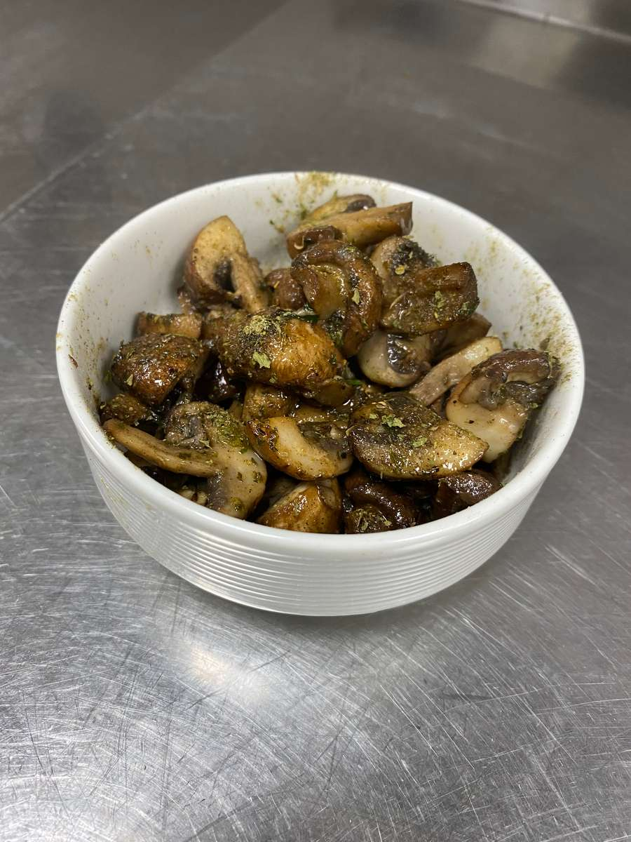 Garlic Herb Mushrooms