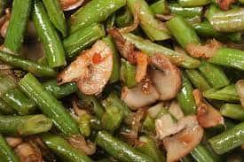 Sauteed Mushrooms & Green Beans