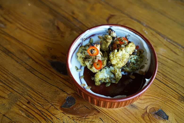 Chermoula Charred Cauliflower