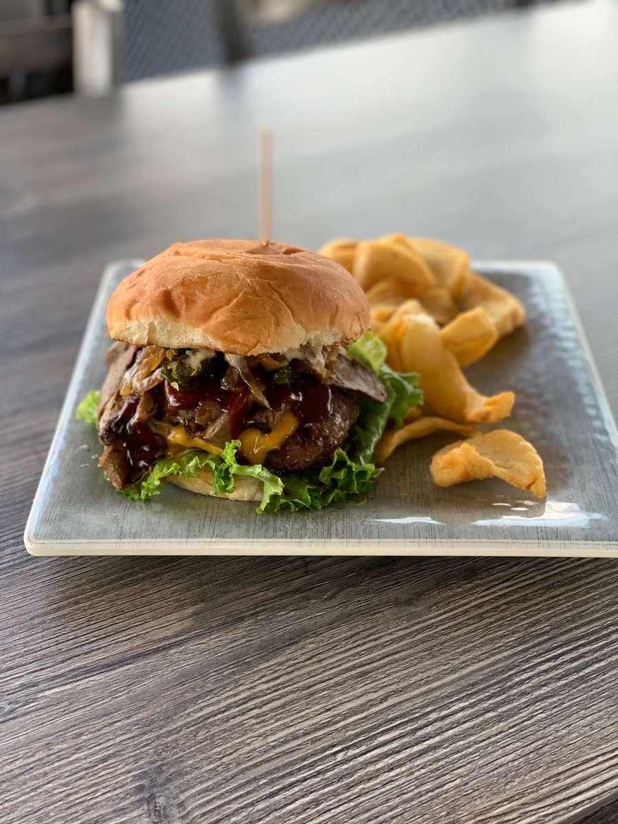 *Carlyle's Brisket Burger