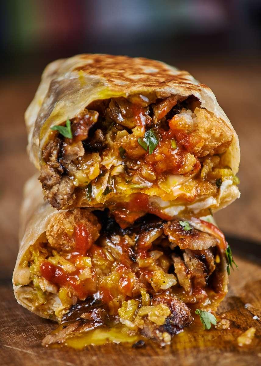 Firebird Breakfast Burrito
