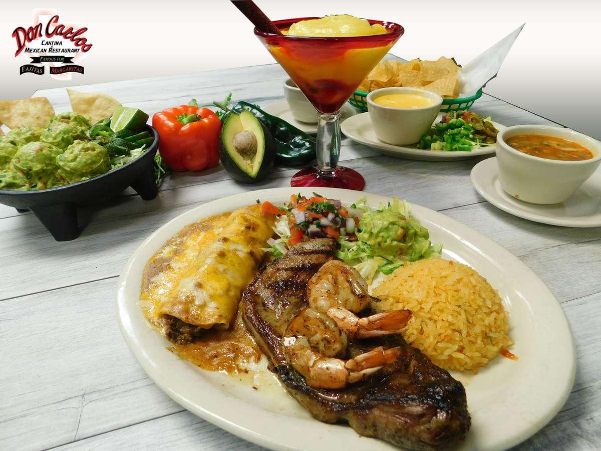 Steak Tampiqueño & Shrimp