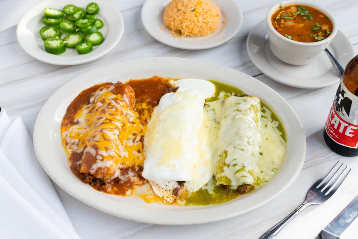 3. Enchiladas