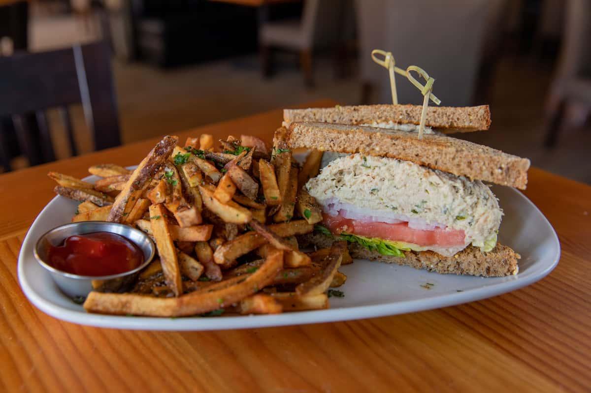 Hawaiian Albacore Tuna Salad Sandwich