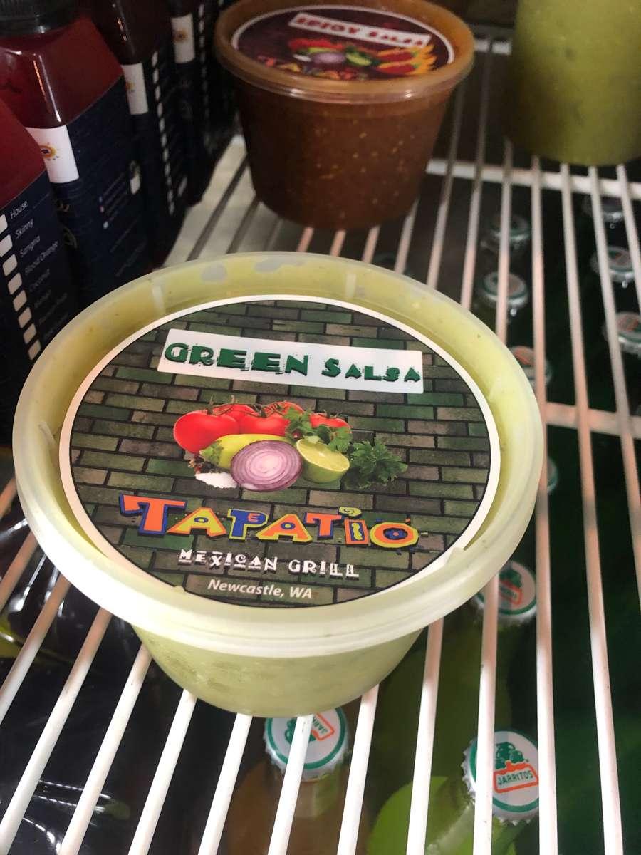 Green Tomatillo - Avocado Salsa