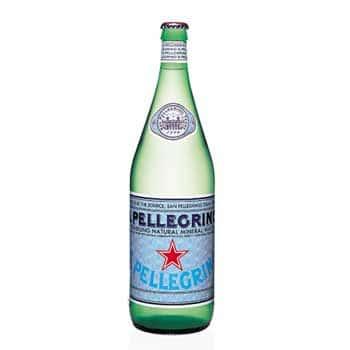 1 Liter S. Pellegrino Sparkling Water