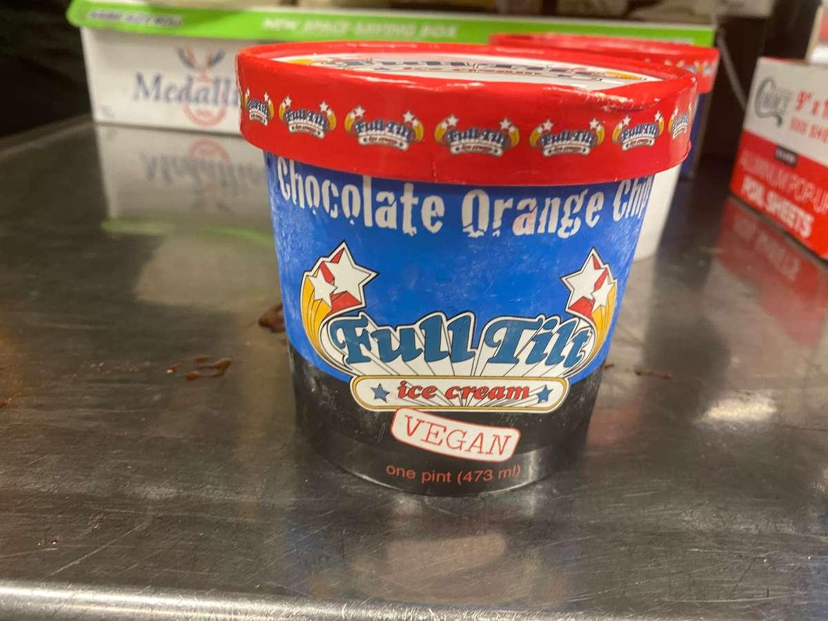 Chocolate orange chip Vegan Ice Cream Pint