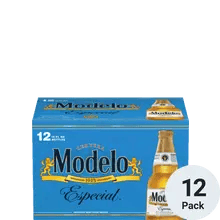 12 Pack of Modelo Especial