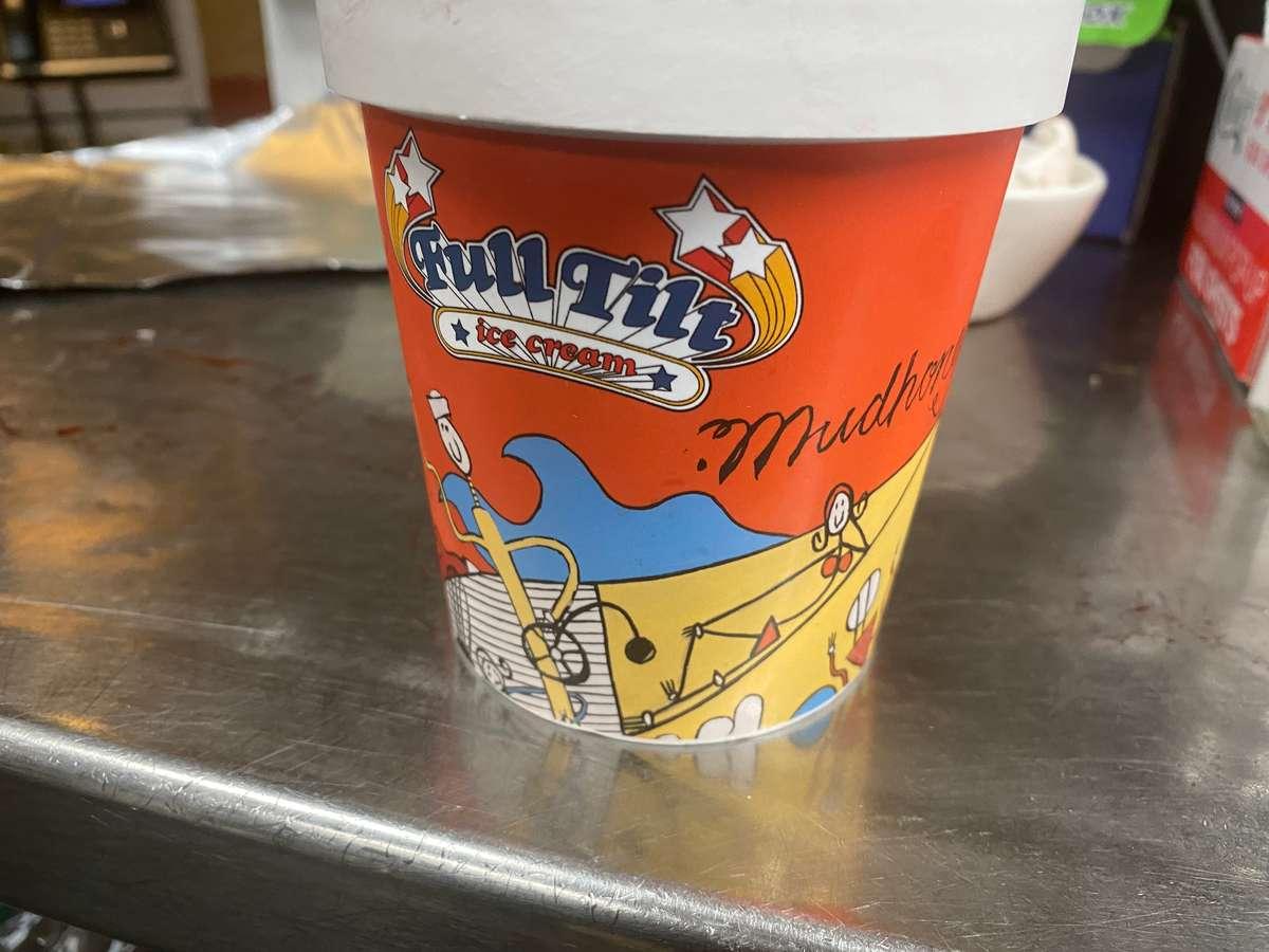 Full Tilt Mudhoney Ice Cream Pint