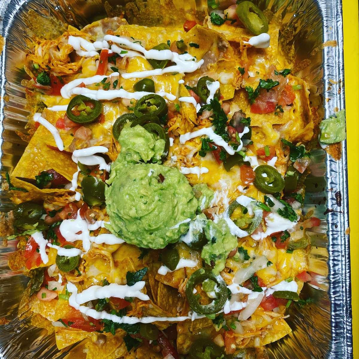Family style nachos