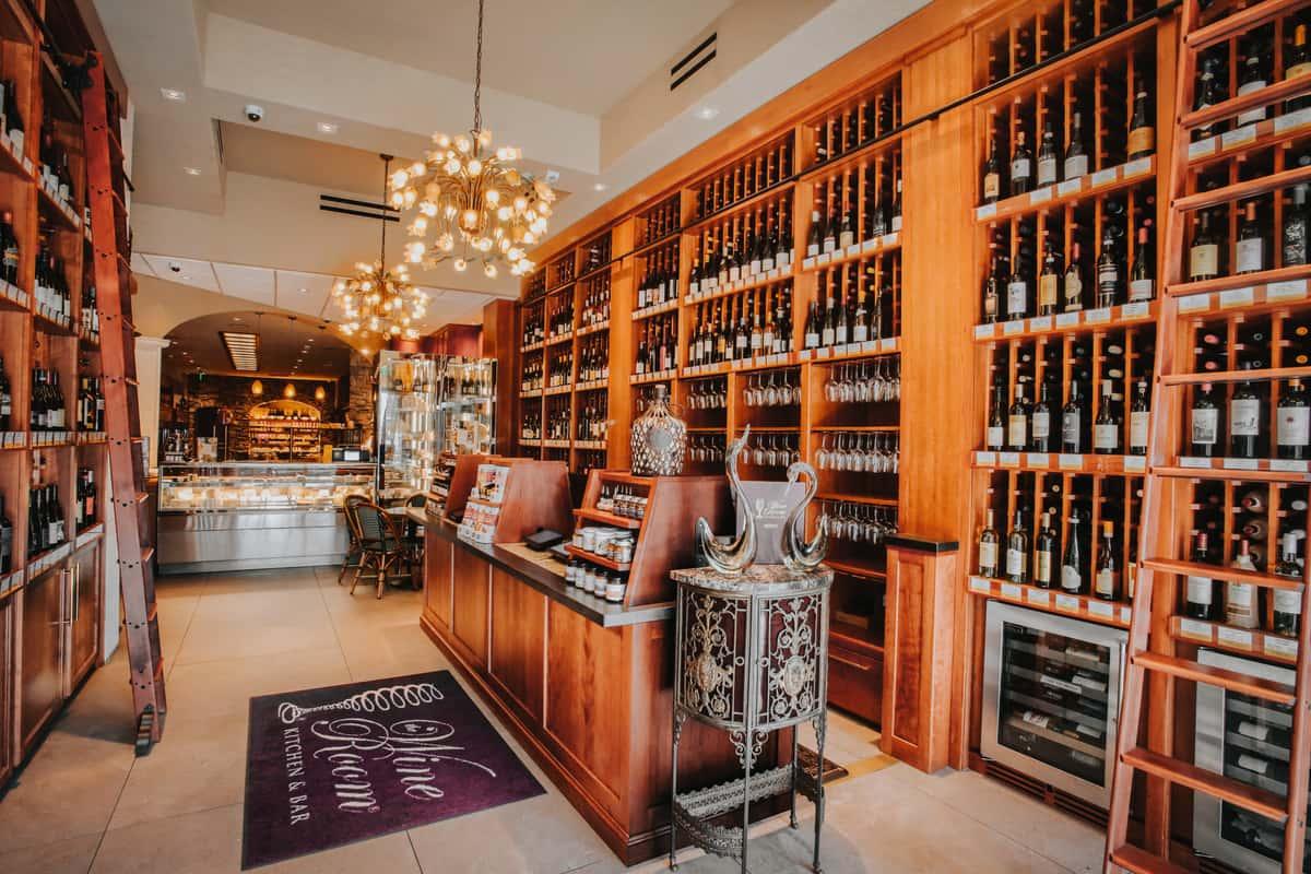 retail wine shop