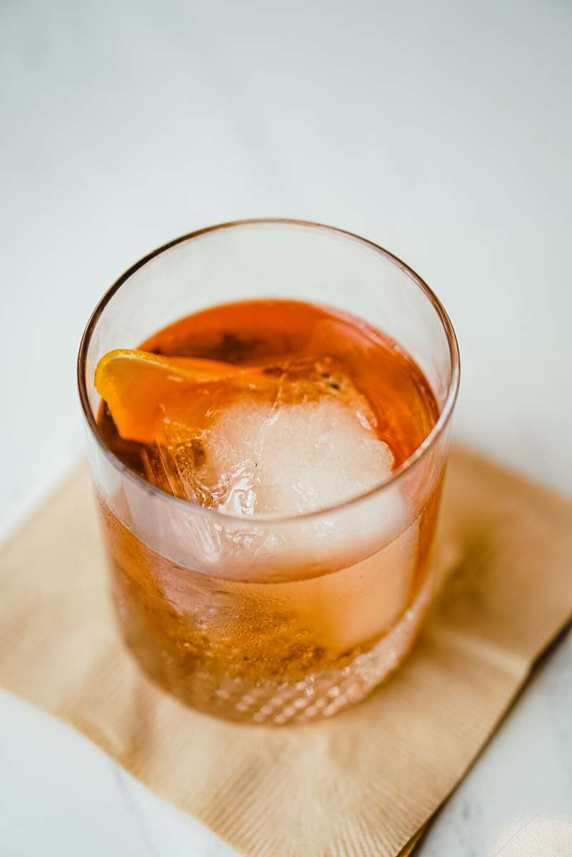 Cedar Smoked Old Fashioned