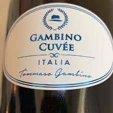Tomasso Gambino Cuvee, Brut Sparkling, Italy NV