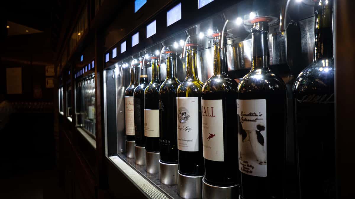 wine tasting system