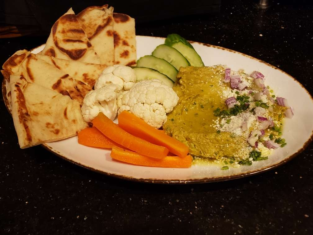 Seasonal Avocado Hummus
