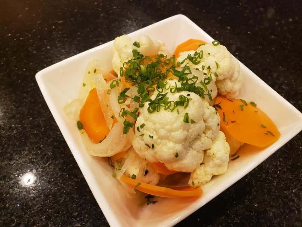 Cauliflower Escabeche
