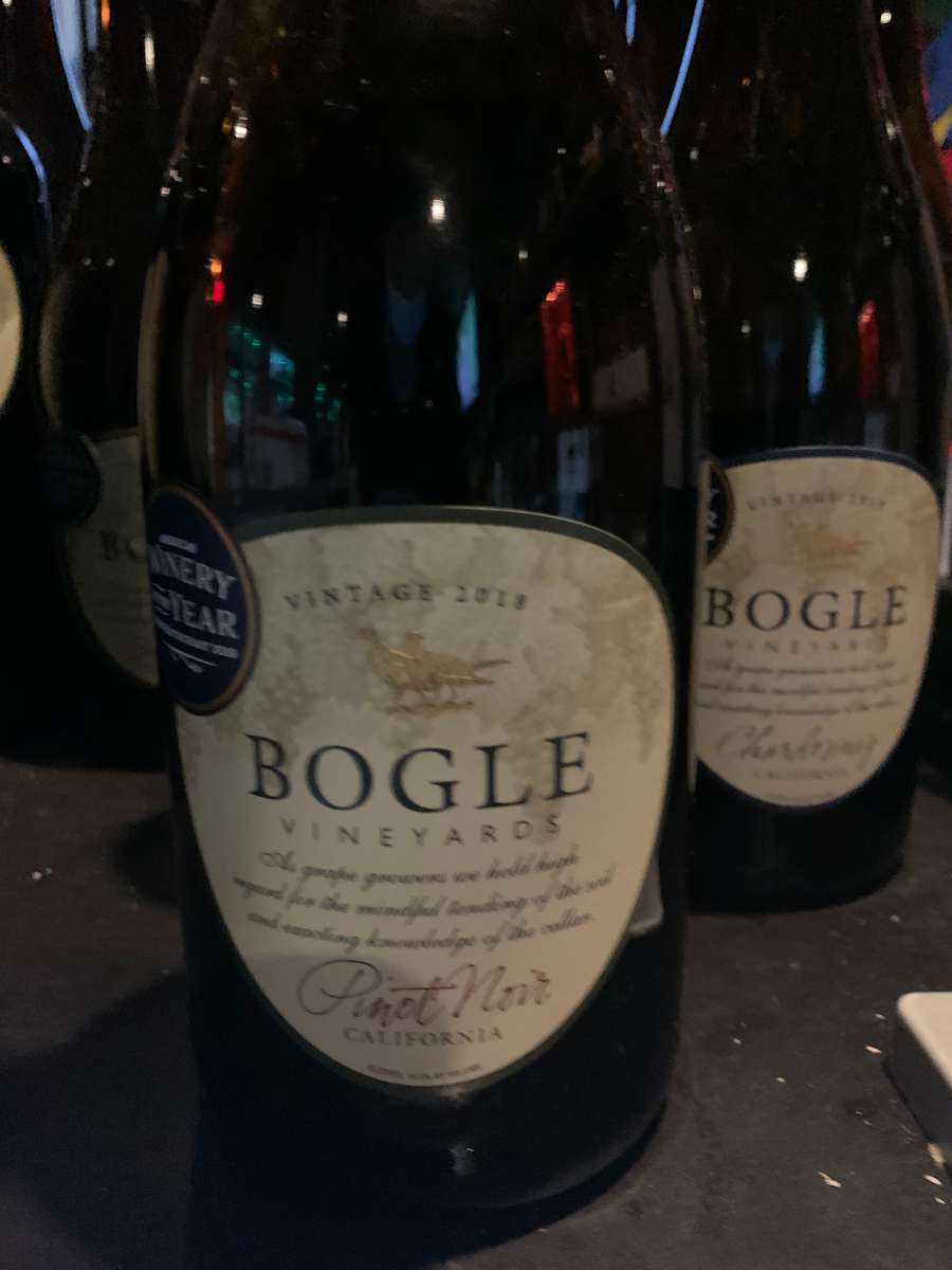 Pinot Noir - Bogle, CA 2017