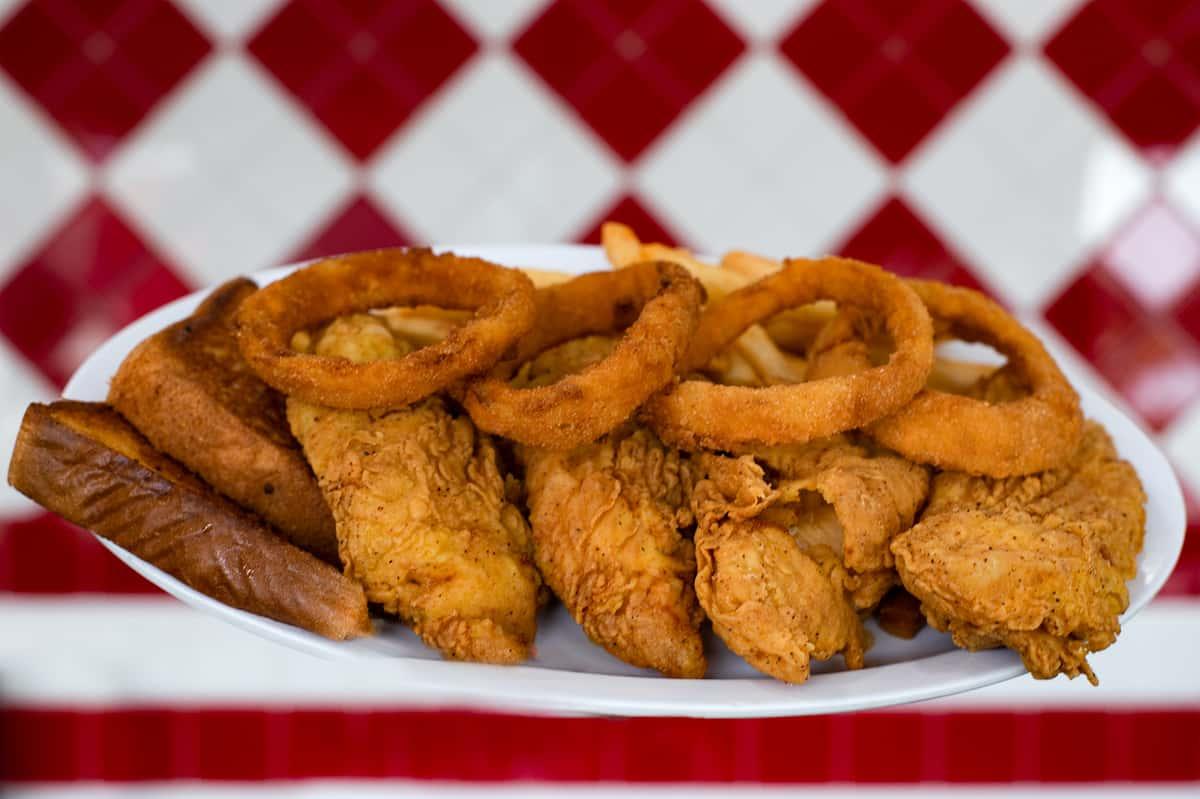 Chicken Strip Dinner