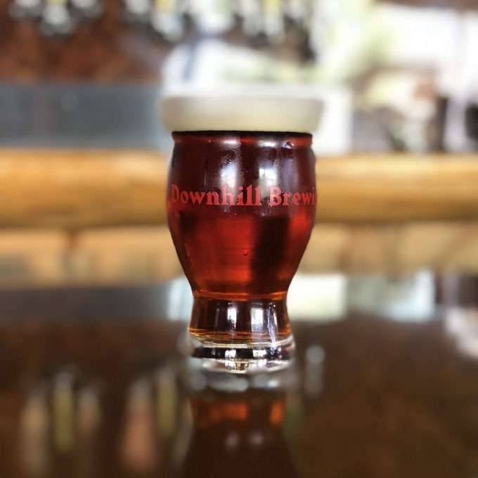 Downhill Melisandre Raspberry Golden Ale - 32oz