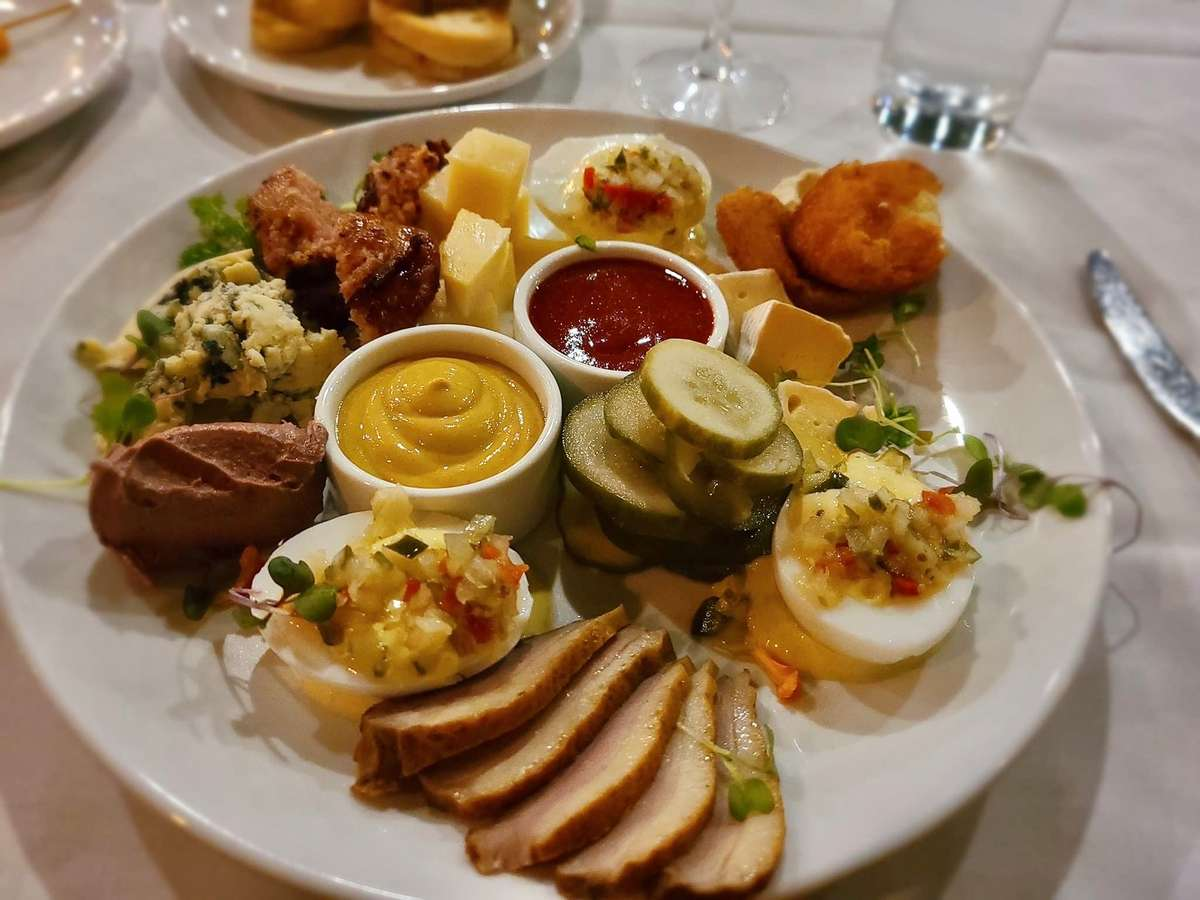 French Charcuterie & Cheese Platter