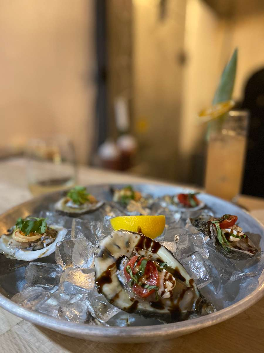 Prepared Oysters