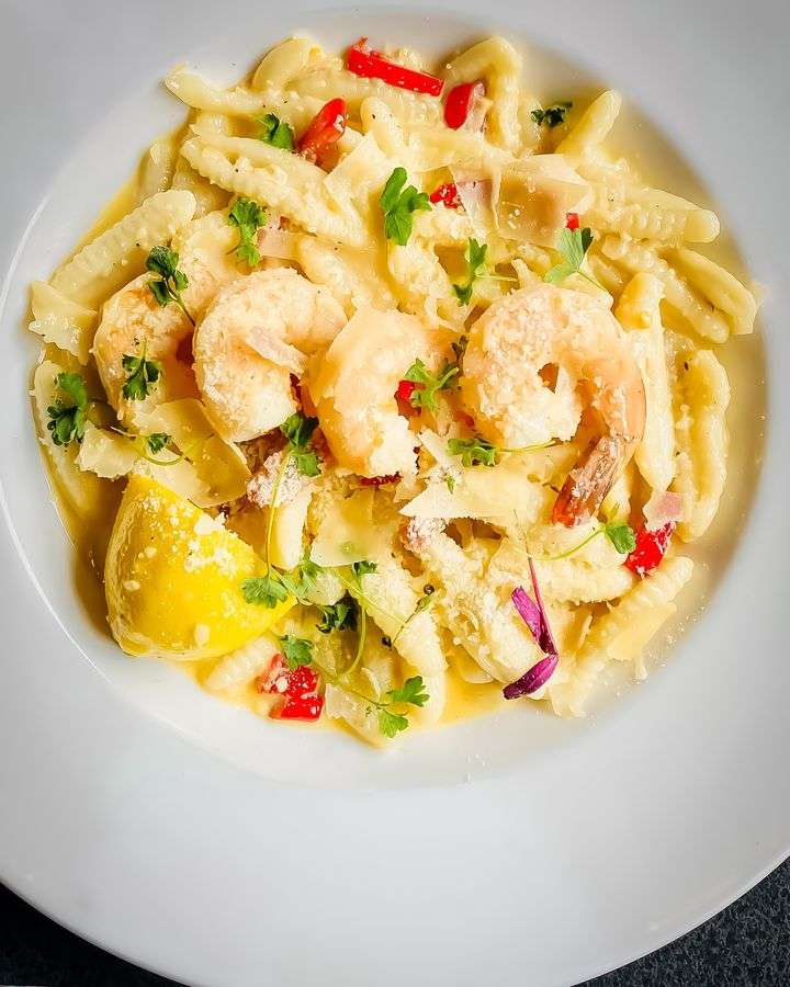 Shrimp Cavatelli
