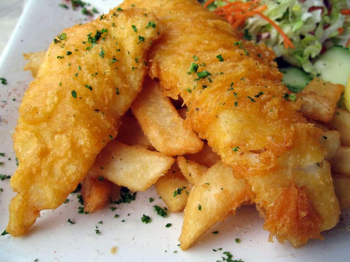 English Beer-Battered Fish & Chips