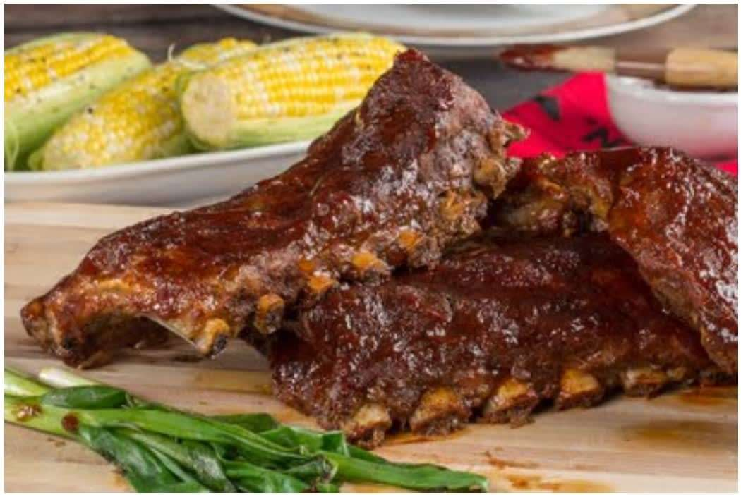 Charbroiled Baby Back Ribs