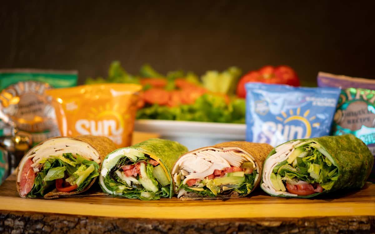 Multiple sandwich wraps