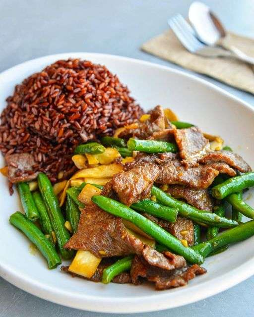 Beef & String Beans
