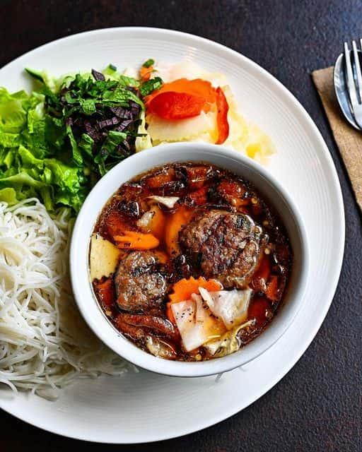 Hanoi Style Smoked Pork Noodles