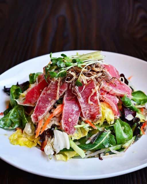 Seared Tuna Ahi Salad