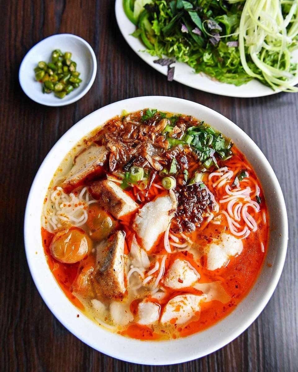 """Fish Noodle Soup """"Bun Ca"""""""