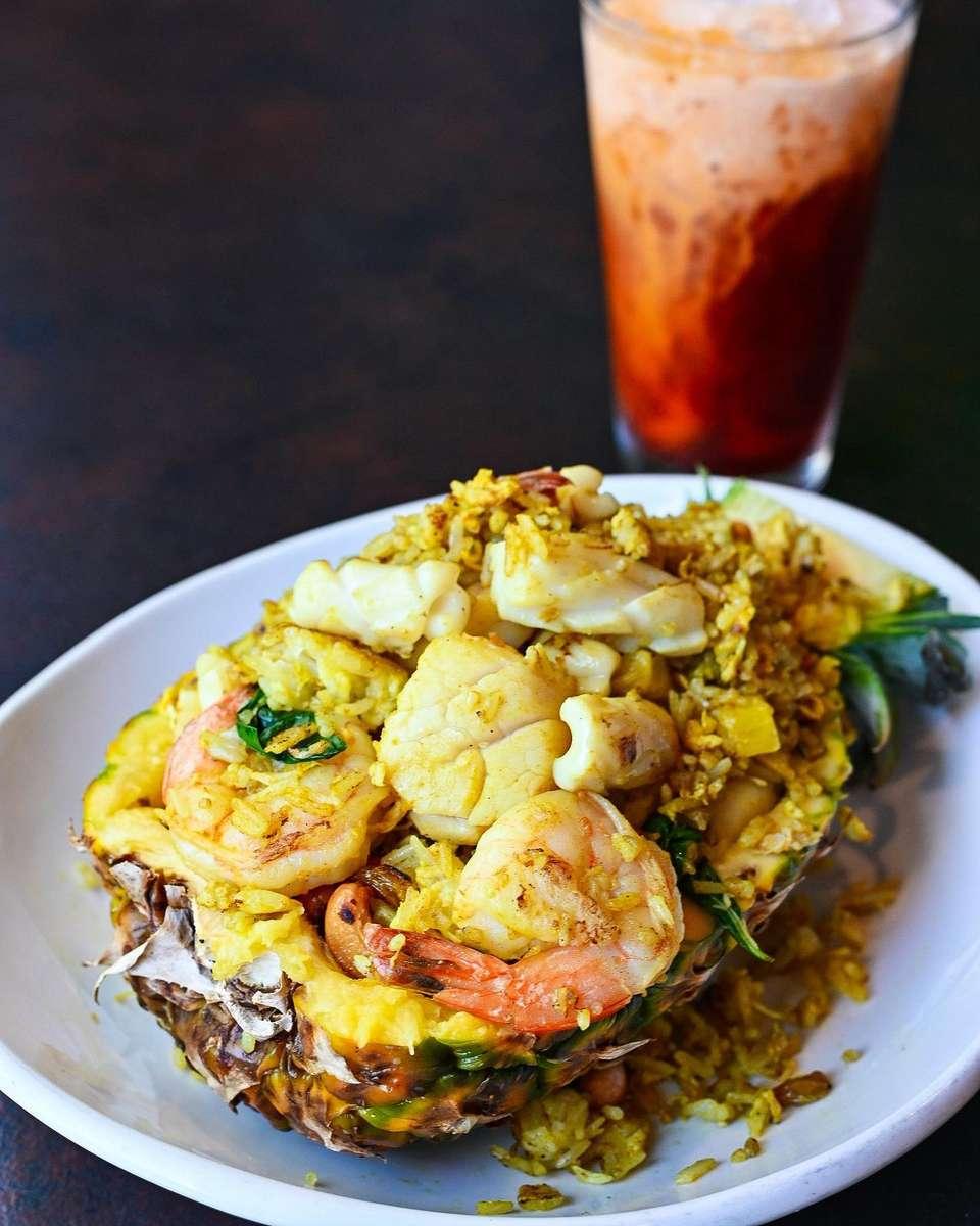 Seafood Pineapple Rice