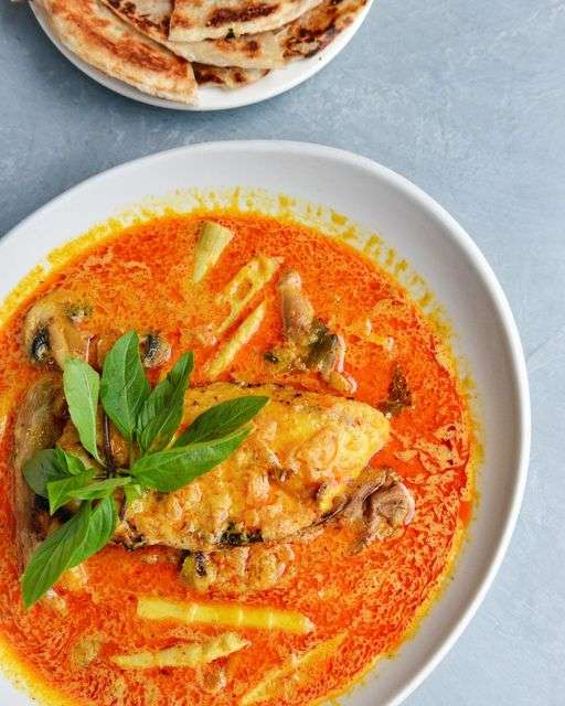 Chilean Sea Bass Curry & Crepes