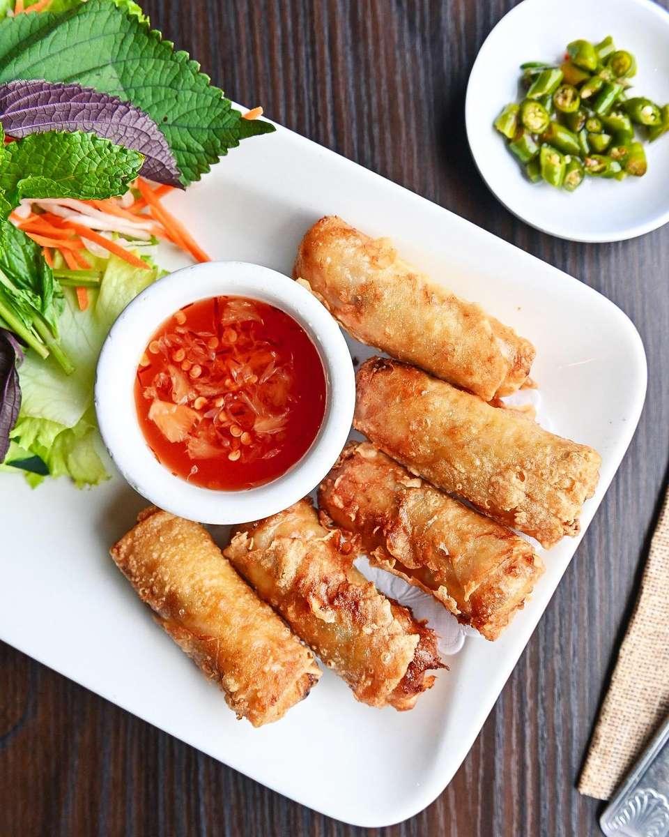 Traditional Vietnamese Egg Rolls