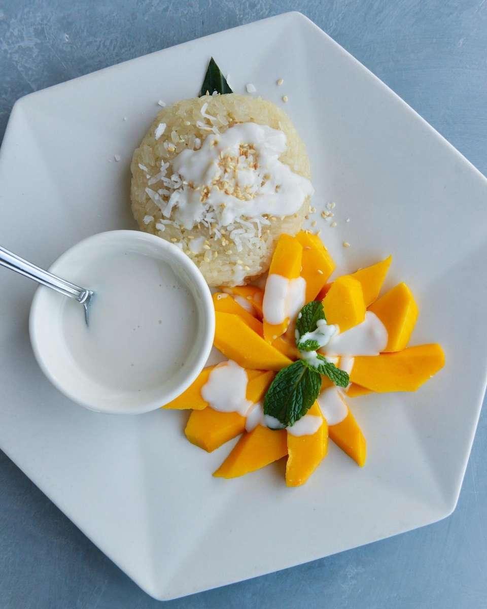 Fresh Mango & Sticky Rice