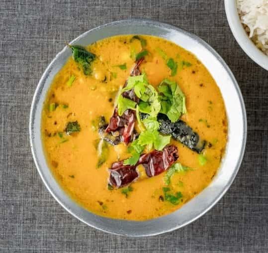 64. Tadka Dal/Spinach/Tomato
