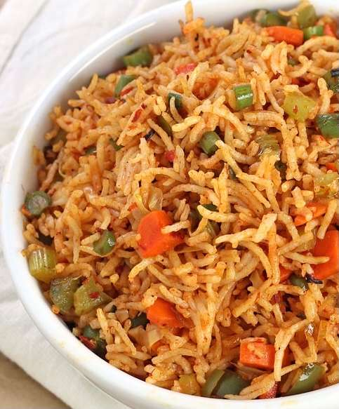 60. Vegetable Fried Rice