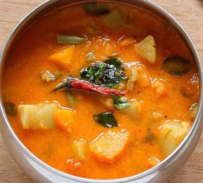20. Sambar Lentil Vegetable Soup